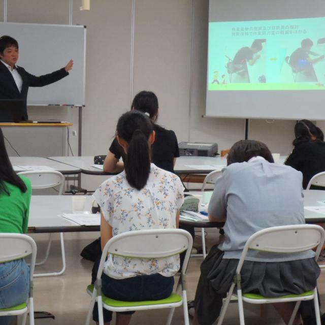 国際医学技術専門学校 作業療法学科の模擬授業+コピー2
