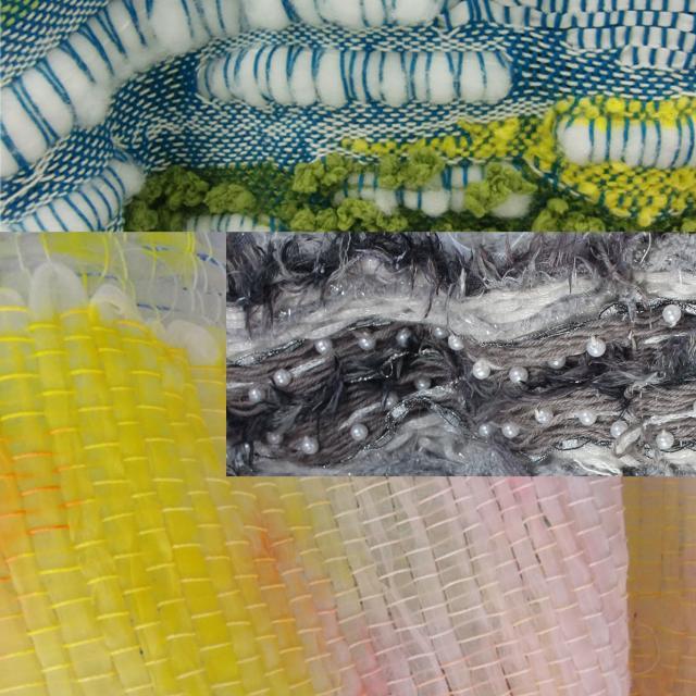 香蘭ファッションデザイン専門学校 夏の特別企画!裂き織り体験&ファッションショー1