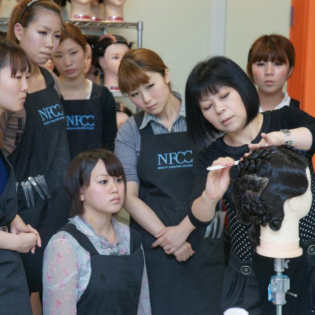 名古屋ファッション・ビューティー専門学校 ビューティープレイヤーを目指すオープンキャンパス☆3