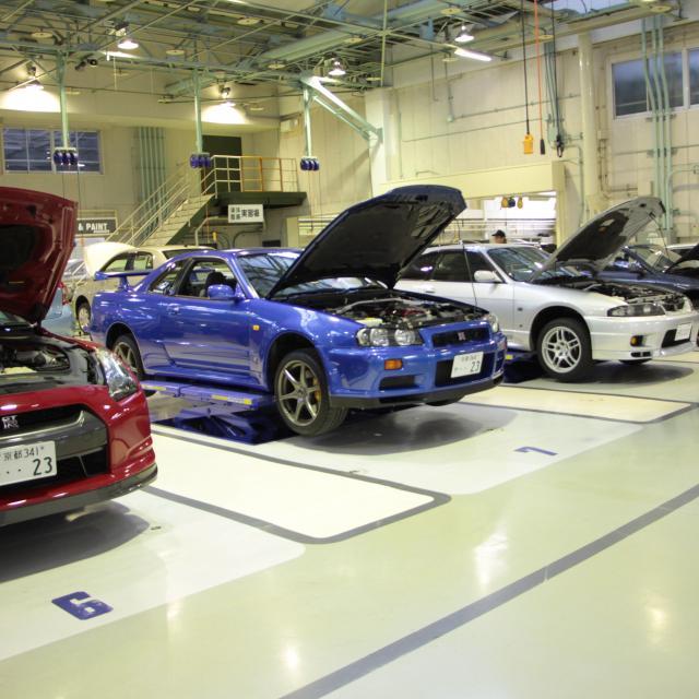 専門学校 日産京都自動車大学校 授業見学会3