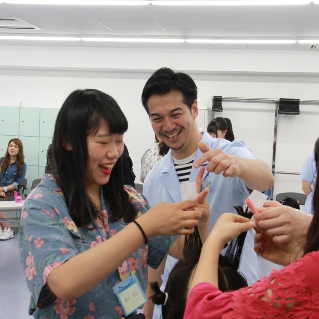 日本美容専門学校 通信科オリエンテーション1