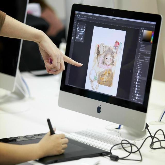 名古屋デザイナー学院 10月開催【イラストレーション学科】 幅広くイラストを仕事に2