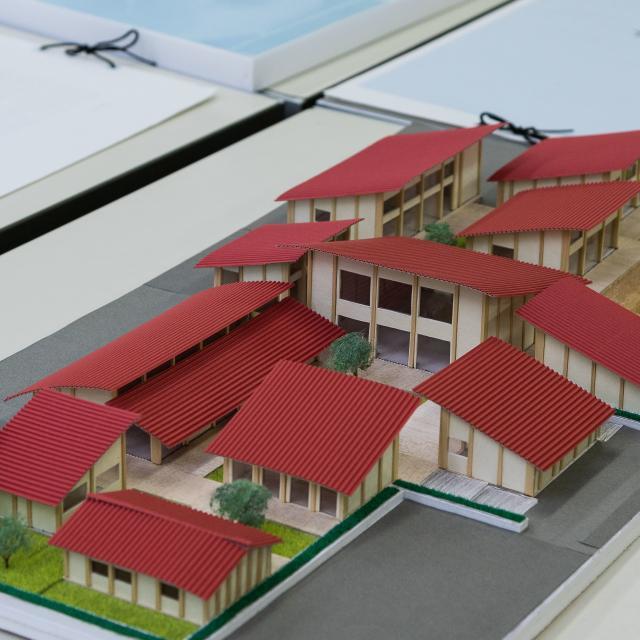 京都建築専門学校 オープンキャンパス+在校生による設計作品の紹介等1