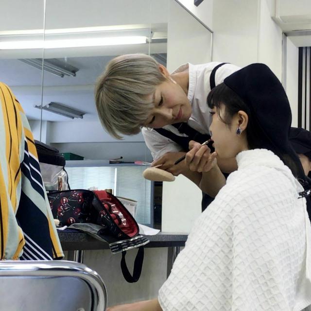 ファッション文化専門学校DOREME ☆☆ハロウィンプレスクール☆☆ハロウィンメイク実体験!2