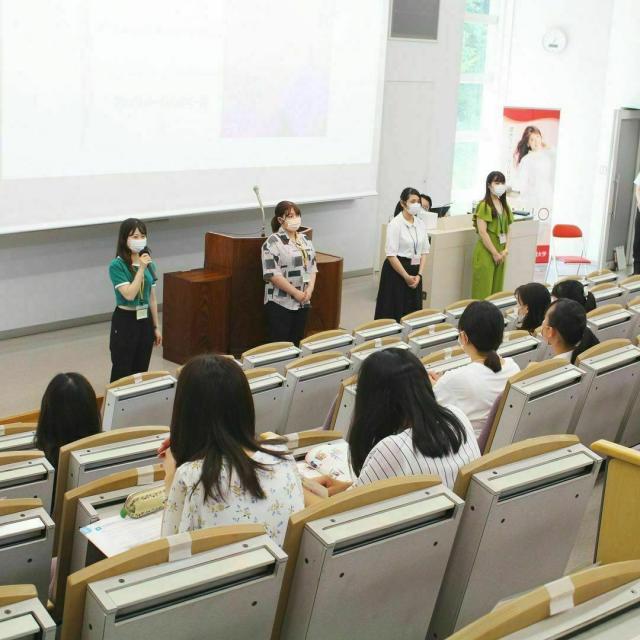 埼玉女子短期大学 面談・面接模擬&ミニ体験授業1