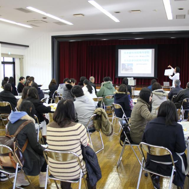 日本医療学院専門学校 特別な体験ができる!実習体験会・AO入学説明会へ☆2