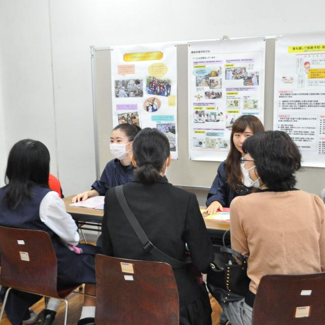 鹿児島純心女子大学 大学祭オープンキャンパス1