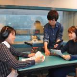 放送音響科の体験入学「ラジオ番組を制作しよう!」の詳細