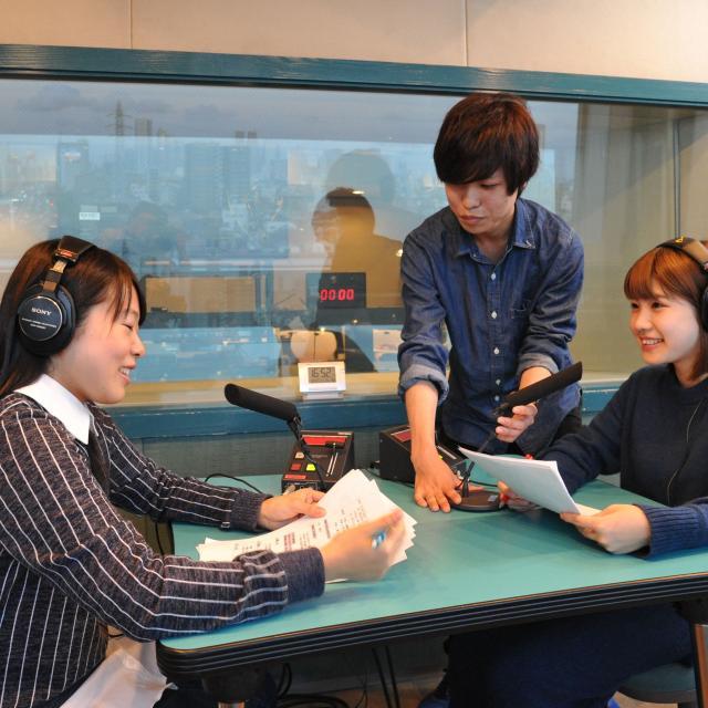 東放学園専門学校 放送音響科の体験入学「ラジオ番組を制作しよう!」1