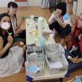 YMCA健康福祉専門学校 学校説明会!季節の制作~ハロウィン~
