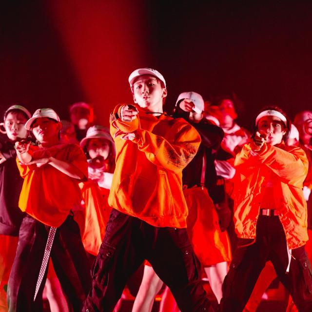 尚美ミュージックカレッジ専門学校 【ダンス学科】プロダンサーによるダンスレッスンを受けてみよう1