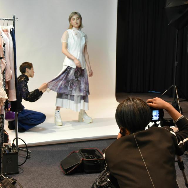 名古屋モード学園 体験入学1