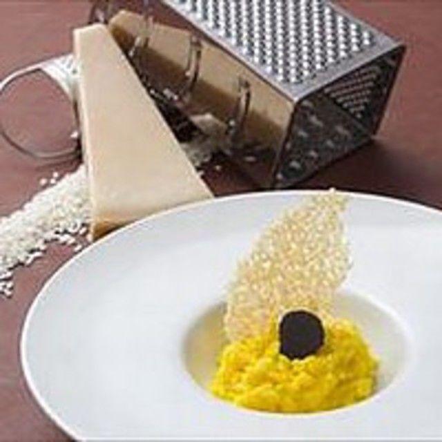 「初秋のイタリアン。」〈チーズリゾット&カルパッチョ〉