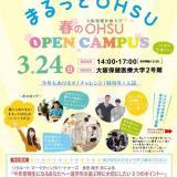 春のオープンキャンパス!3月24日(日)【作業療法学専攻】の詳細