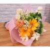大阪ビジネスカレッジ専門学校 季節の花束アレンジメント