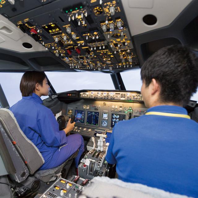 中日本航空専門学校 オープンキャンパス20193