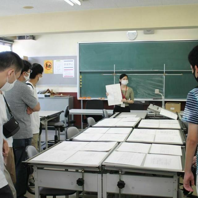 浅野工学専門学校 【横浜で学ぶ浅野の建築とは】見て聞いて話せる『進路相談会』3