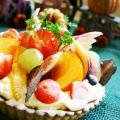 大阪調理製菓専門学校 【製菓】1人1台持ち帰り!人気の秋のフルーツタルト