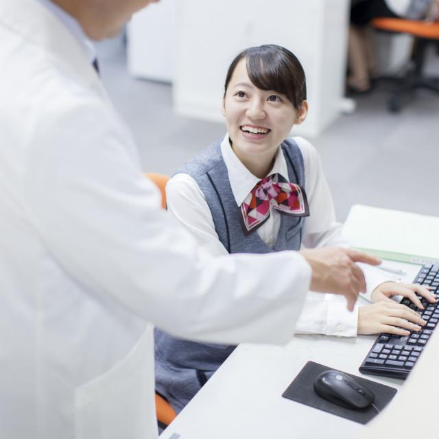 岡山医療技術専門学校 【医療事務学科】オープンキャンパス1