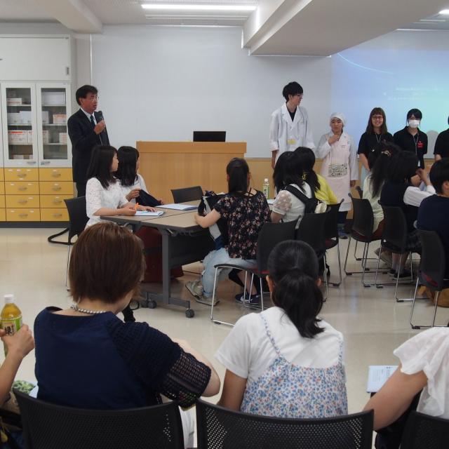札幌保健医療大学 【栄養学科】オープンキャンパス2