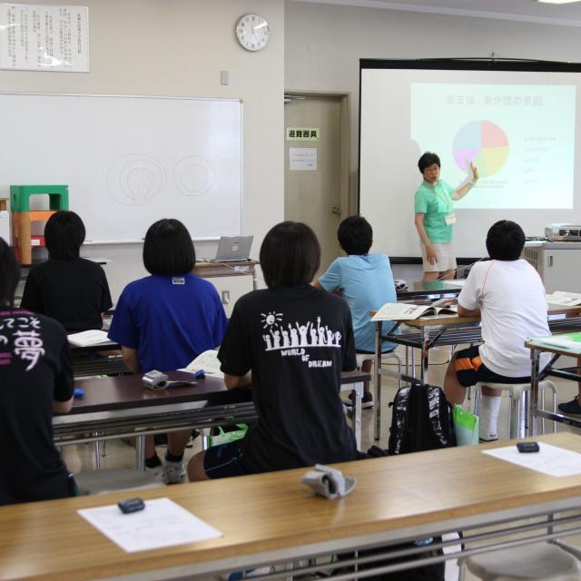 武蔵丘短期大学 春のオープンキャンパス2