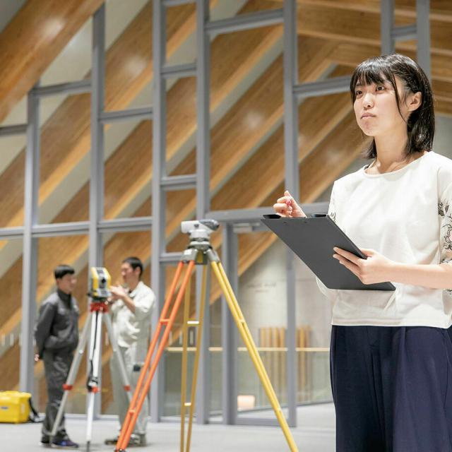 中央工学校 2020体験入学☆レンガアーチを作って構造を知ろう!2