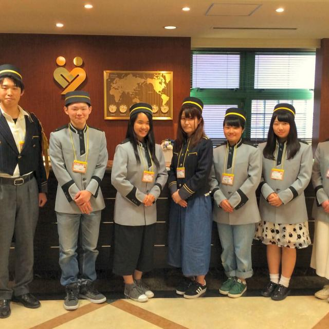 大阪ホテル専門学校 【高校1・2年生対象】ウィンタースクール4