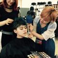 大村美容ファッション専門学校 OMULAコレクション ヘアメイク体験