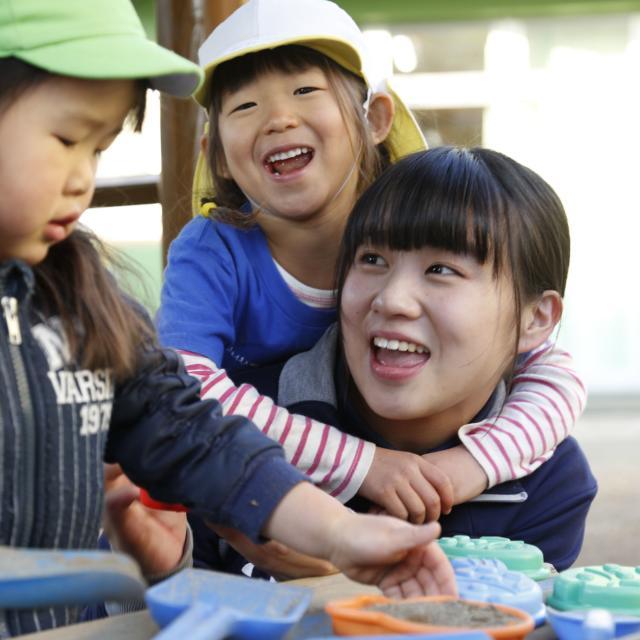 横浜YMCAスポーツ専門学校 YMCA保育園を見学、保育実技を体験しよう!1