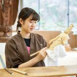 工芸体験キャンパス2018 仏像彫刻の詳細