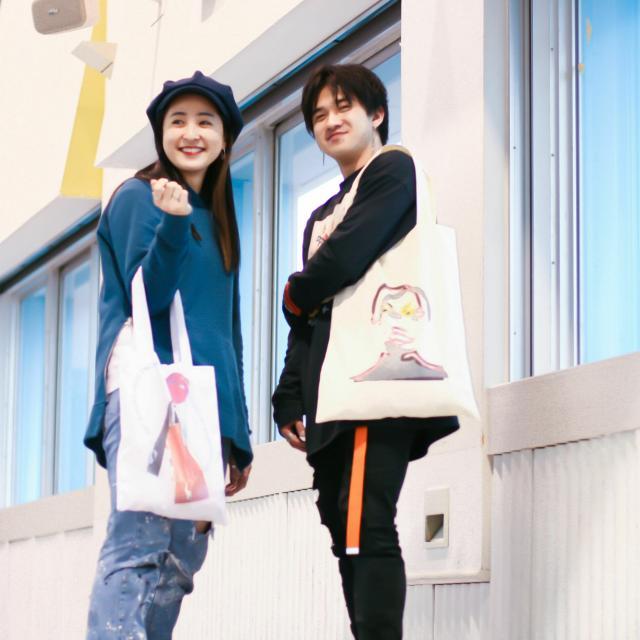 マロニエファッションデザイン専門学校 トートバッグ制作体験1