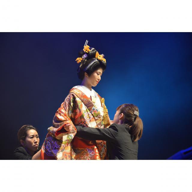 資生堂美容技術専門学校 ☆ヘア・メーキャップショー2018☆1