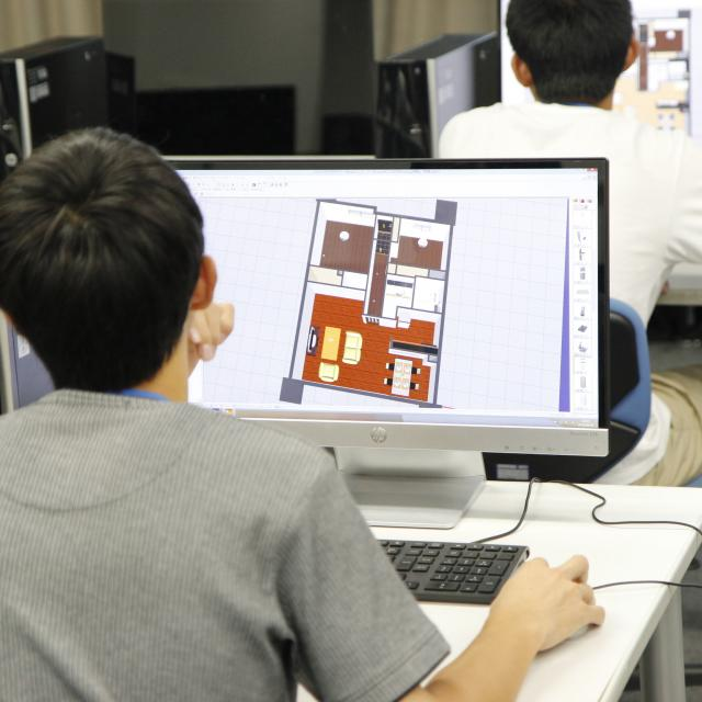東海工業専門学校金山校 C:インテリア設計コース3