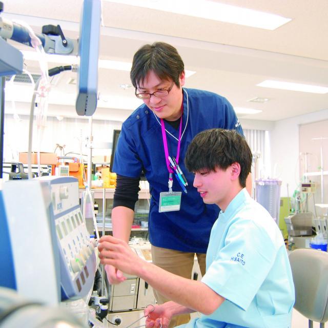 北海道ハイテクノロジー専門学校 医療機器のスペシャリスト!医療機器を使ってみよう!1