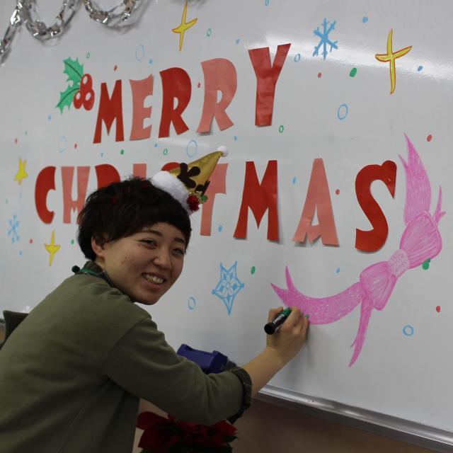 悠久山栄養調理専門学校 イベントスペシャル【クリスマス】 -栄養士科ー3