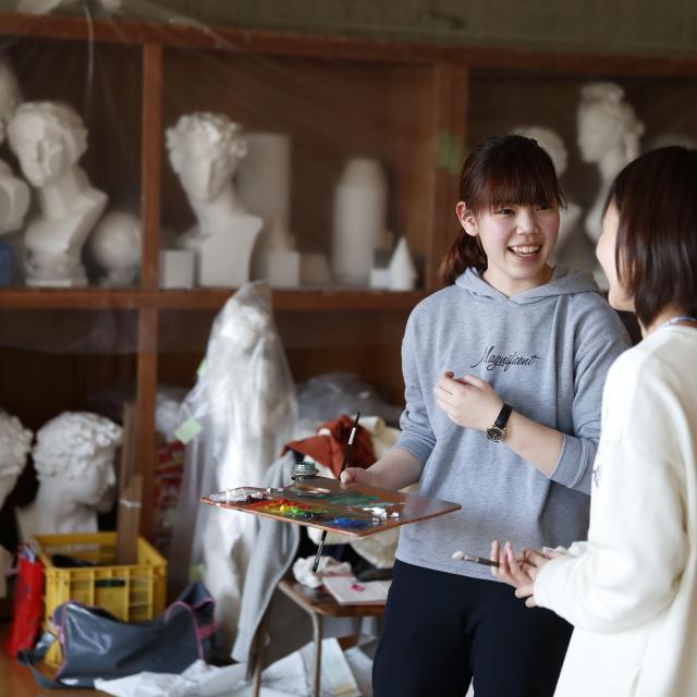 奈良芸術短期大学 1/19(土)は、キャンパス見学&相談会!2