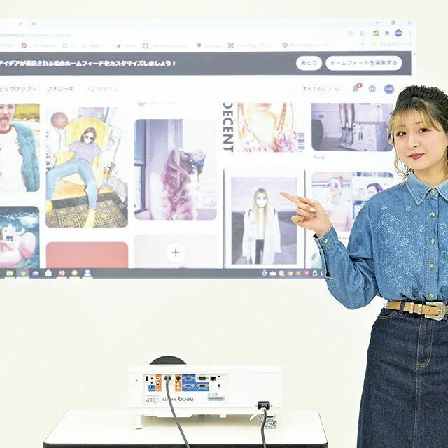 織田ファッション専門学校 動画メディアのスタイリスト体験1