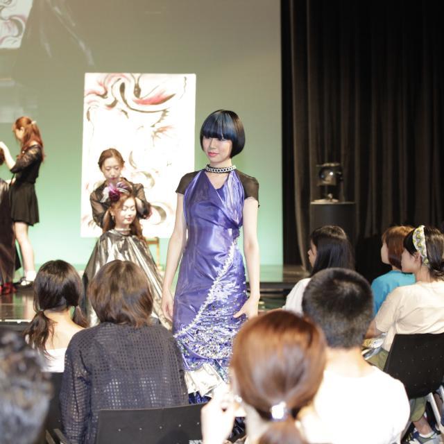 国際文化理容美容専門学校国分寺校 特別体験入学会★いつもよりバージョンアップしたヘアショー!1