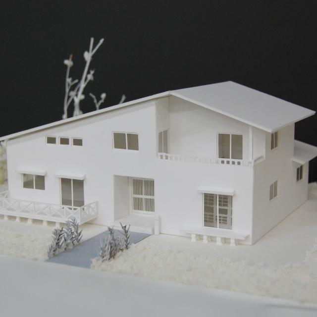 水戸日建工科専門学校 夏の特別オープンキャンパス♪【住宅模型】1