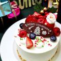 AST関西健康・製菓専門学校 【パティシエ】オリジナルクリスマスケーキ