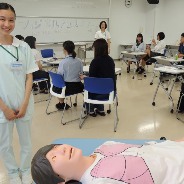 医療専門学校水戸メディカルカレッジ 2019年度看護学科オープンキャンパス1