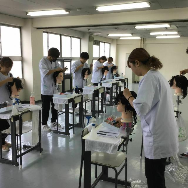 大阪中央理容美容専門学校 出願直前SP♪3