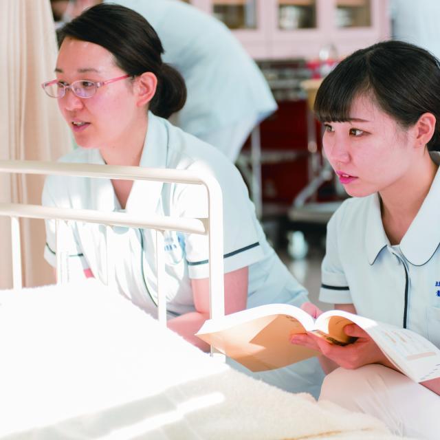 北海道ハイテクノロジー専門学校 血圧・脈拍・体温を測定してみよう3
