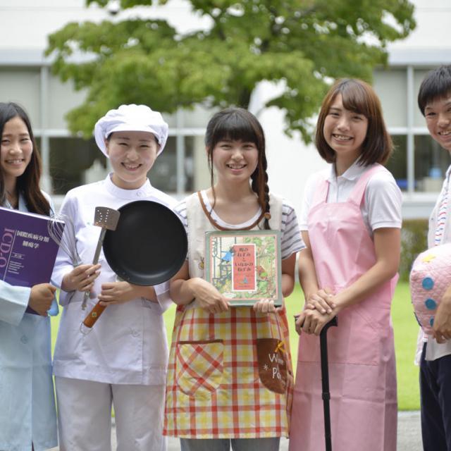 佐野日本大学短期大学 佐野駅・栃木駅からカレッジバス運行 全8フィールドの体験学習2