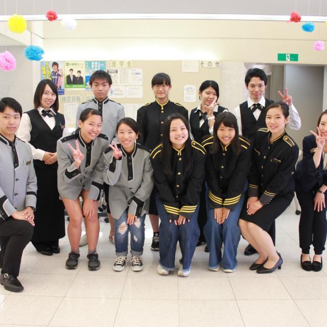 大阪ホテル専門学校 【ホテルサービス】職業なりきり体験オープンキャンパス1