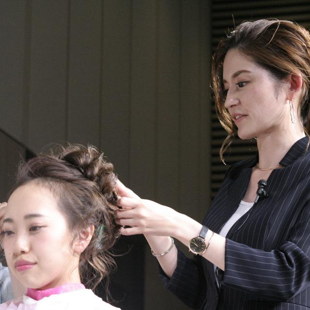 国際理容美容専門学校 サマーフェスティバル2