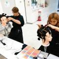 名古屋市大須の美容学校♪ワインディングしよう!/セントラルビューティストカレッジ