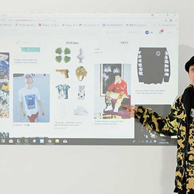 織田ファッション専門学校 TVのスタイリスト体験1