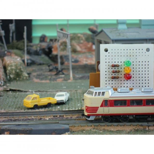 日本理工情報専門学校 体験イベント!「鉄道模型Nゲージ制御」1