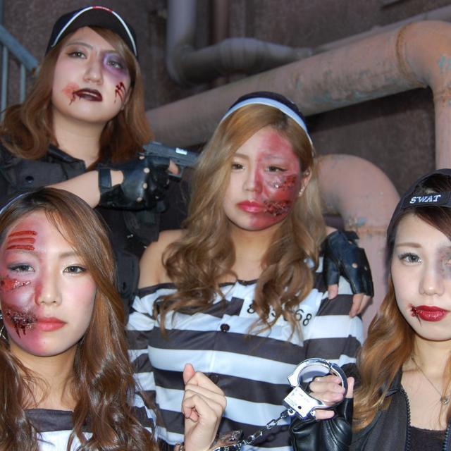 名古屋ファッション・ビューティー専門学校 ハロウィンメイクで盛り上がろう!1